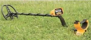 détecteur de métaux dans un champ