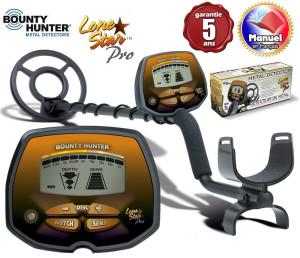 Détecteur métaux Bounty Hunter Lone Star Pro package